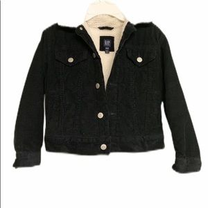 Gap Boys Cord Sherpa-Lined Jacket Size S 6-7Y